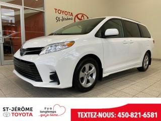 Used 2019 Toyota Sienna * LE * 8 PASSAGERS * CAMÉRA * MAGS * for sale in Mirabel, QC