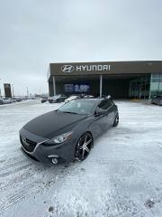 Used 2014 Mazda MAZDA3 Sport GT-SKY, MAGS, TOIT, CAMERA, A/C, CRUISE, BLUETOOTH for sale in Mirabel, QC