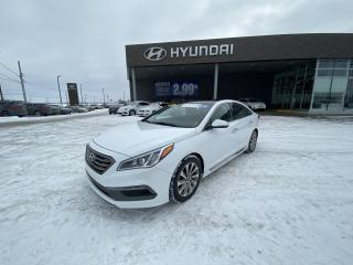 Used 2016 Hyundai Sonata Sport Tech, A/C, CUIR, TOIT PANO, CAMÉRA.VOLANT CH for sale in Mirabel, QC