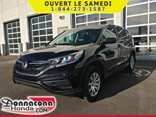 Used 2015 Honda CR-V LX *GARANTIE GLOBALE 2020/120 000KM* for sale in Donnacona, QC