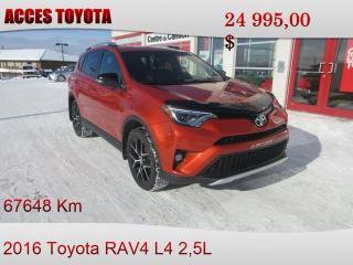 Used 2016 Toyota RAV4 AWD SE for sale in Rouyn-Noranda, QC