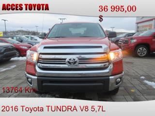 Used 2016 Toyota Tundra 13000KM for sale in Rouyn-Noranda, QC