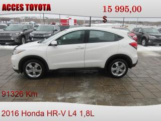 Used 2016 Honda HR-V for sale in Rouyn-Noranda, QC