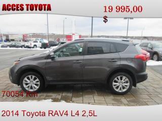 Used 2014 Toyota RAV4 AWD LIMITED for sale in Rouyn-Noranda, QC