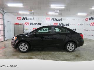 Used 2016 Chevrolet Sonic LS for sale in La Sarre, QC