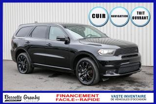 Used 2019 Dodge Durango GT-Blacktop-Dvd-Navigation-Toit for sale in Cowansville, QC