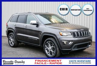 Used 2019 Jeep Grand Cherokee Limited-Toit pano-Navigation+ for sale in Cowansville, QC