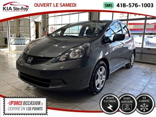 Used 2014 Honda Fit LX *AT *GROUPE ELECTRIQUE *AUX *A/C for sale in Québec, QC