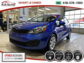 Used 2015 Kia Rio LX+ *AT *GROUPE ELECTRIQUE *BT *A/C for sale in Québec, QC