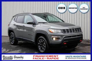 Used 2019 Jeep Compass Trailhawk 4x4-Navigation-Toit Pano for sale in Cowansville, QC