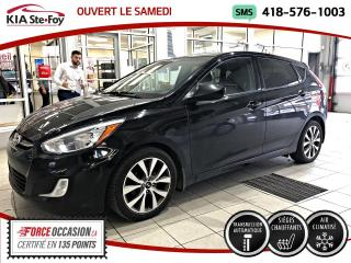 Used 2017 Hyundai Accent SE AUTOMATIQUE TOIT OUVRANT SIEGES CHAUF for sale in Québec, QC