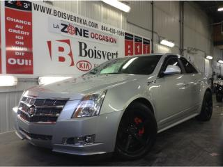 Used 2010 Cadillac CTS CADILLAC CTS SEUL. 78000KM LOOK UNIQUE MAG NOIR for sale in Blainville, QC