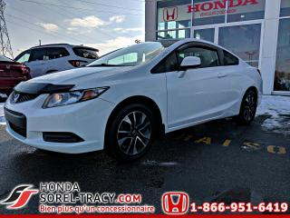 Used 2013 Honda Civic 2 portes, boîte manuelle, LX for sale in Sorel-Tracy, QC