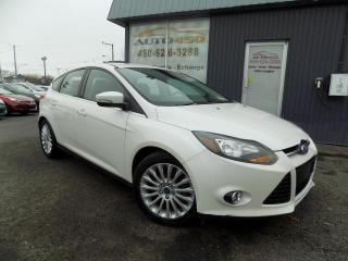 Used 2012 Ford Focus ***TITANIUM,NAVIGATION,BANC CHAUFFANT,AU for sale in Longueuil, QC
