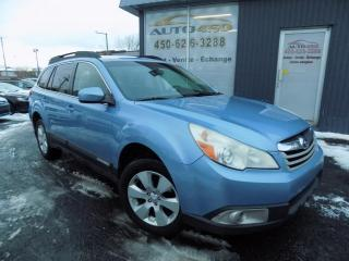 Used 2010 Subaru Outback ***AWD,25.i,AUTOMATIQUE,MAGS,BLUETOOTH, for sale in Longueuil, QC