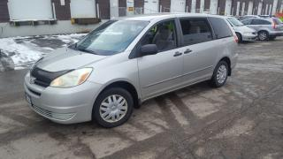 Used 2004 Toyota Sienna 8 Pass, Low km, Auto for sale in Toronto, ON