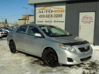 Used 2009 Toyota Corolla ***CE,AUTOMATIQUE,PNEUS D'HIVER,AIR CLIM for sale in Longueuil, QC
