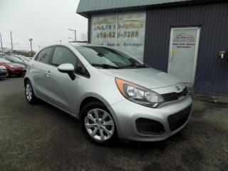 Used 2014 Kia Rio ***RIO5 LX+,PNEUS D'HIVER,AUTOMATIQUE,A/ for sale in Longueuil, QC