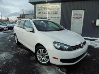 Used 2011 Volkswagen Golf Wagon ***TRENDLINE,AUTOMATIQUE,TOIT PANO,MAGS, for sale in Longueuil, QC