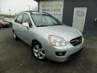 Used 2008 Kia Rondo ***EX,7 PLACES,CUIR,TOIT,AUTOMATIQUE*** for sale in Longueuil, QC
