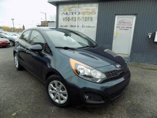 Used 2013 Kia Rio ***LX+,AUTOMATIQUE,BLUETOOTH,BAS KILO*** for sale in Longueuil, QC