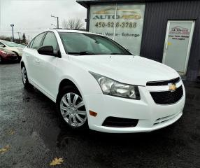 Used 2011 Chevrolet Cruze ***LS,1SB,AUTOMATIQUE,PNEUS D'HIVER*** for sale in Longueuil, QC