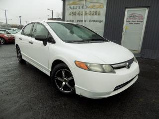 Used 2008 Honda Civic ***DX-G,AUTOMATIQUE,A/C,MAGS*** for sale in Longueuil, QC