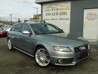 Used 2011 Audi A4 ***S-LINE,PREMIUM,AWD,CUIR,TOIT PANO*** for sale in Longueuil, QC