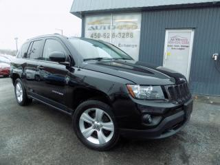 Used 2014 Jeep Compass ***NORTH,1 PROPRIO,CUIR,MAGS*** for sale in Longueuil, QC