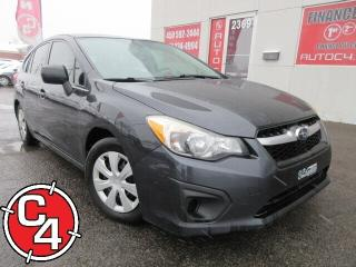 Used 2012 Subaru Impreza 2.0i HATCHBACK AUTO AWD A/C GR ÉLECT for sale in St-Jérôme, QC