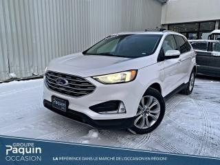 Used 2019 Ford Edge TITANIUM CUIR for sale in Rouyn-Noranda, QC