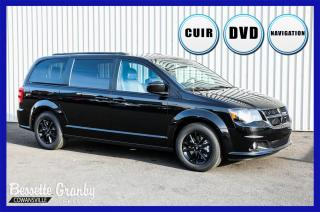 Used 2019 Dodge Grand Caravan GT +DVD, Navigation, Hitch+ for sale in Cowansville, QC