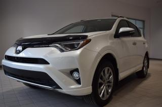 Used 2017 Toyota RAV4 PLATINIUM for sale in St-Eustache, QC