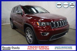 Used 2019 Jeep Grand Cherokee Limited 4x4-Navigation-Toit ouvrant for sale in Cowansville, QC