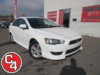 Used 2013 Mitsubishi Lancer SE 10th MAG TOIT KIT JUPE BLUETOOTH for sale in St-Jérôme, QC
