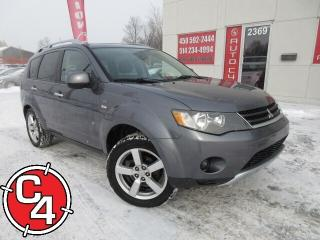 Used 2008 Mitsubishi Outlander XLS V6 4X4 CUIR TOIT A/C GR ÉLECT for sale in St-Jérôme, QC