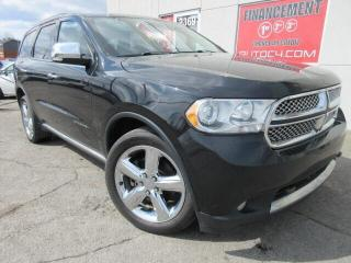 Used 2012 Dodge Durango CITADEL V6 CUIR TOIT AWD for sale in St-Jérôme, QC
