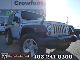 Used 2010 Jeep Wrangler RUBICON MANUAL 4X4 for sale in Calgary, AB