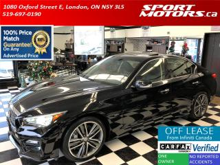 Used 2016 Infiniti Q50 Q50S 3.0t AWD+Blind Spot+360 Camera+GPS+BOSE Sound for sale in London, ON