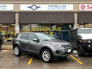 Used 2016 Land Rover Discovery Sport 4X4, Navigation, Pano Roof, Only 60K for sale in Vaughan, ON
