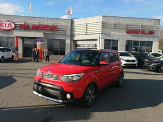 Used 2017 Kia Soul EX Premium ** CUIR, TOIT PANO, VOLANT CHAUFFANT** for sale in Mcmasterville, QC