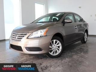 Used 2015 Nissan Sentra SV AUTO || BLUETOOTH || SIEGES CHAUFFANTS BAS KM CERTIFIÉ for sale in Brossard, QC