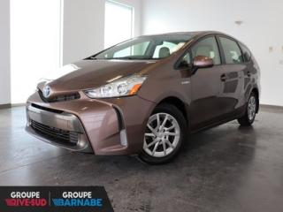 Used 2016 Toyota Prius V V Hybride Bluetooth*Camera Recul* JAMAIS ACCIDENTÉ for sale in Brossard, QC