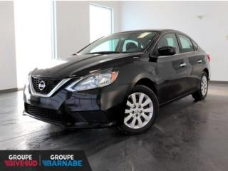 Used 2017 Nissan Sentra S MANUELLE || BLUETOOTH || GROUPE ELECT JAMAIS ACCIDENTÉ for sale in Brossard, QC