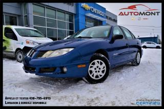 Used 2003 Pontiac Sunfire SE + GROUPE ÉLECTRIQUE + A/C + AUTOMATIQUE for sale in Mont-Laurier, QC