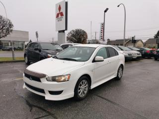 Used 2012 Mitsubishi Lancer SE for sale in Drummondville, QC