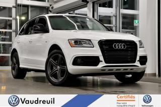 Used 2017 Audi Q5 2.0T Technik * S-LINE COMPETITION * B&O for sale in Vaudreuil-Dorion, QC