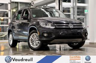 Used 2016 Volkswagen Tiguan Édition spéciale * 17 POUCES * DEMARREUR for sale in Vaudreuil-Dorion, QC