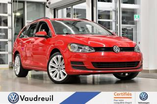 Used 2016 Volkswagen Golf Sportwagen 1.8 TSI Trendline * APP-CONNECT * 18 PO for sale in Vaudreuil-Dorion, QC