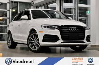 Used 2016 Audi Q3 2.0T Technik * ENS. SPORT * BLACK OPTI for sale in Vaudreuil-Dorion, QC